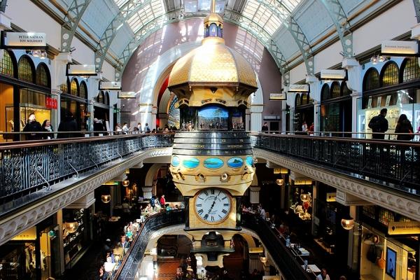 """(澳大利亚)""""世界上最美丽的购物中心""""维多利亚女王大厦"""