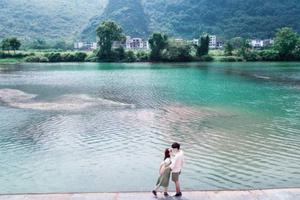 『桂林阳朔』赵小姐,能否邀请你在遇龙河边跳支舞呢