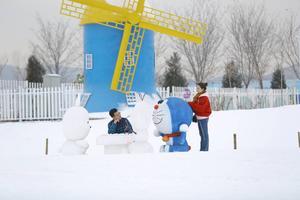 太原莱芠小镇,浪漫雪王国,抖音网红打卡地,这个冬天一起让梦飞起来