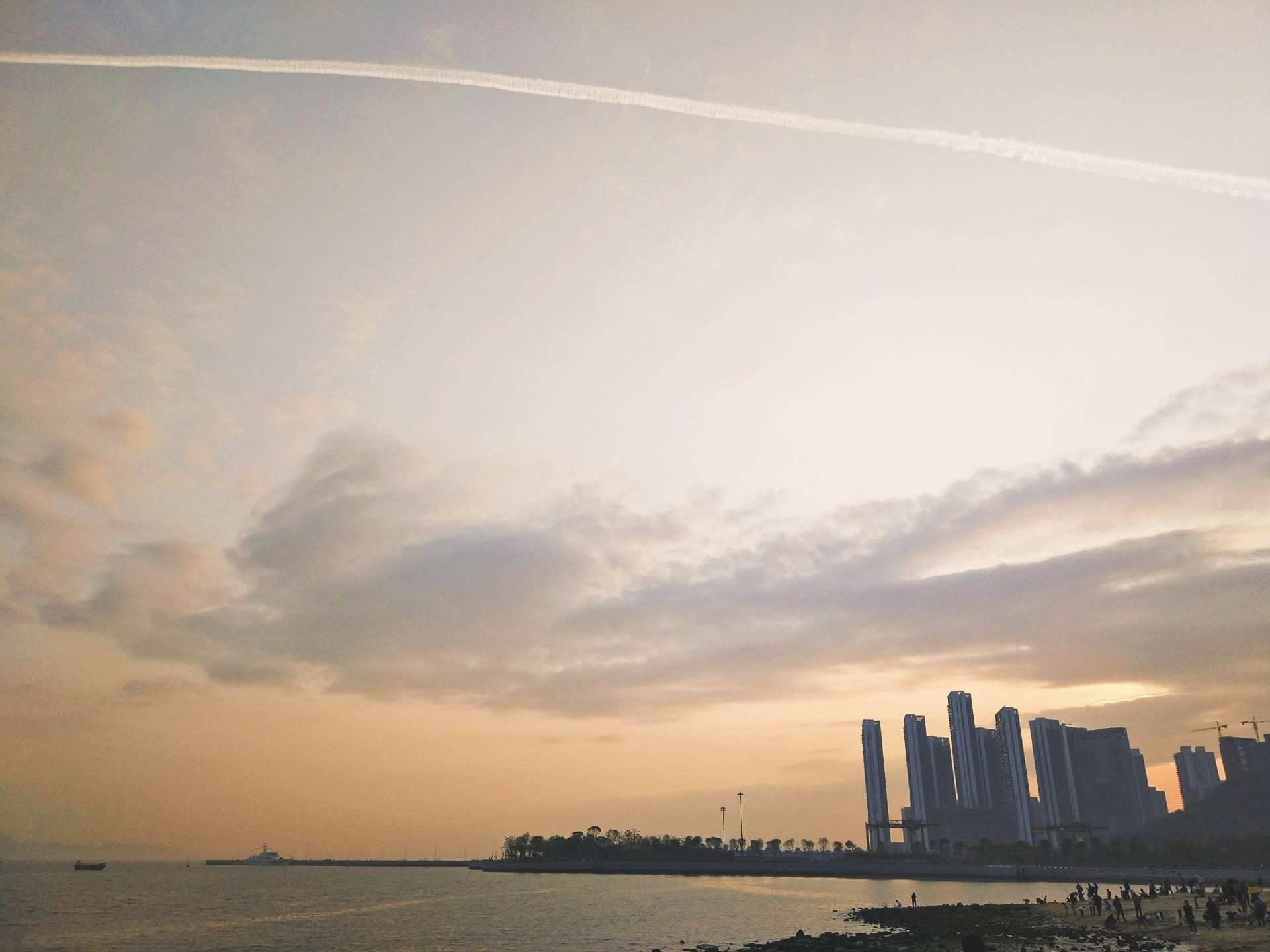 【旅行中的摄影师】深圳湾滨海休闲带,周末打卡新去处