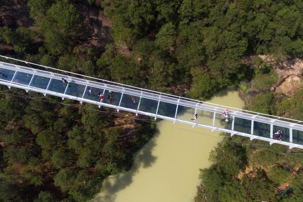 【旅行中的摄影师】佛山高明盈香生态园,网红地打卡玻璃桥