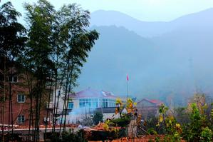 一个淳朴美丽的小山村——石岕口