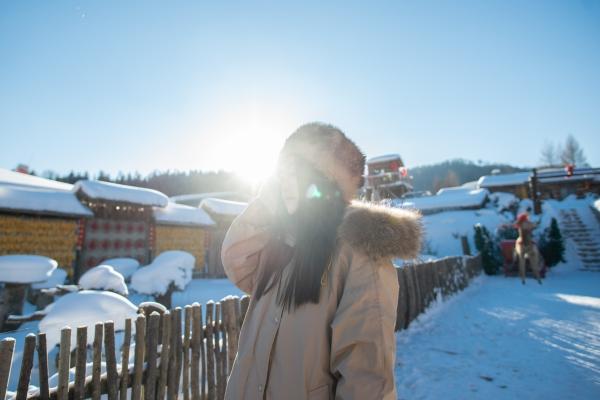 寻找童话镇,哈尔滨雪乡5日游