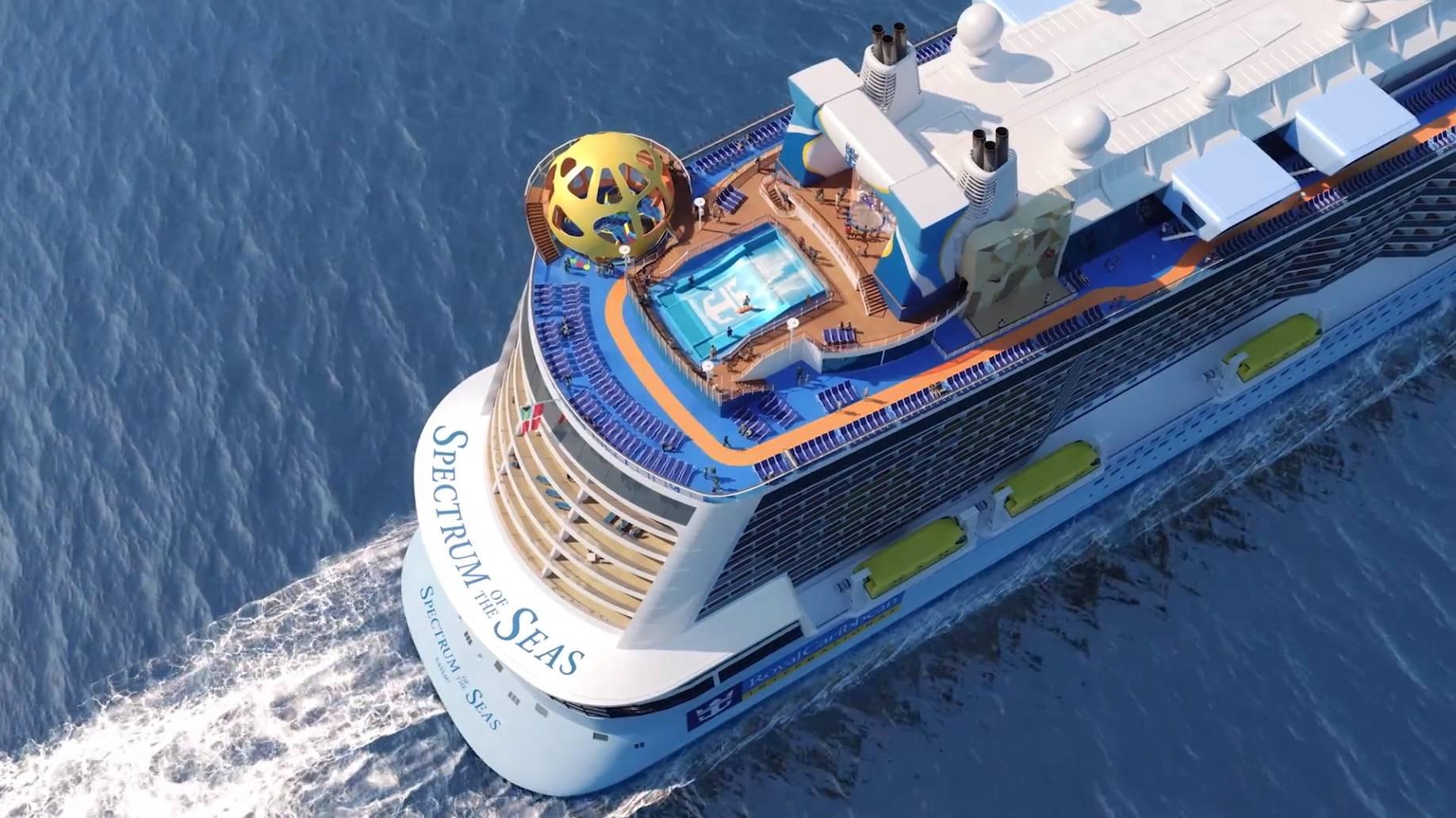 别怪我没告诉你,明年夏天你可以去中国最厉害的游轮—海洋光谱号上避暑啦