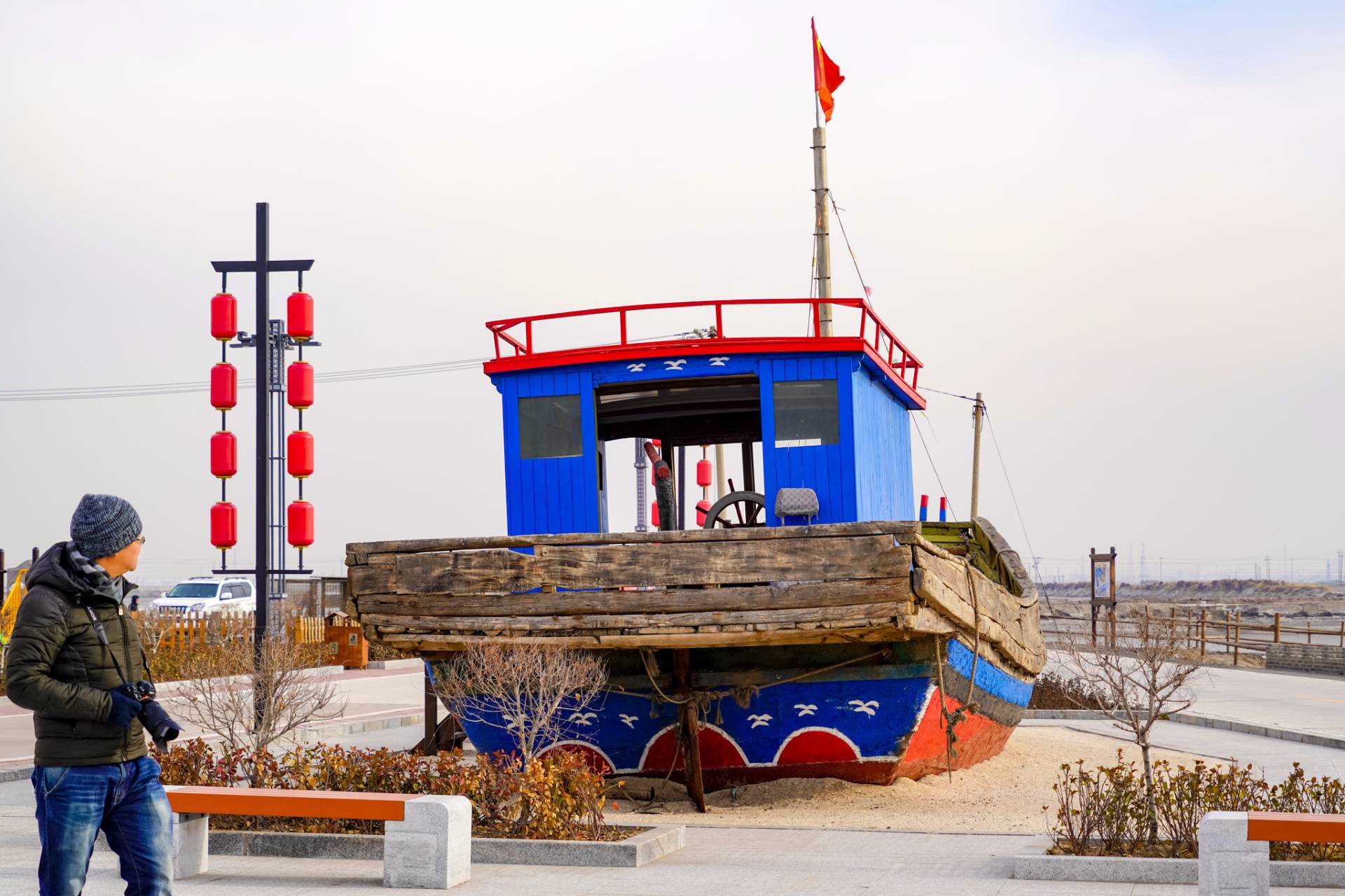 """唐山一座仅有60余户人家的小渔村,以盛产""""河豚王""""而闻名"""