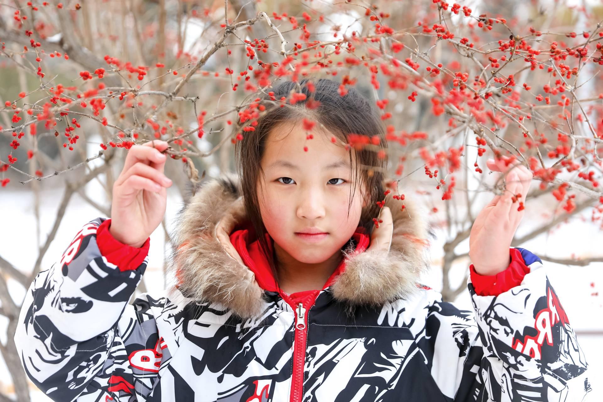 亲子游之冬游本溪,给女儿上一堂生动美丽的地质学课