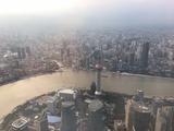 """上海中心大厦""""上海之巅观光厅"""""""