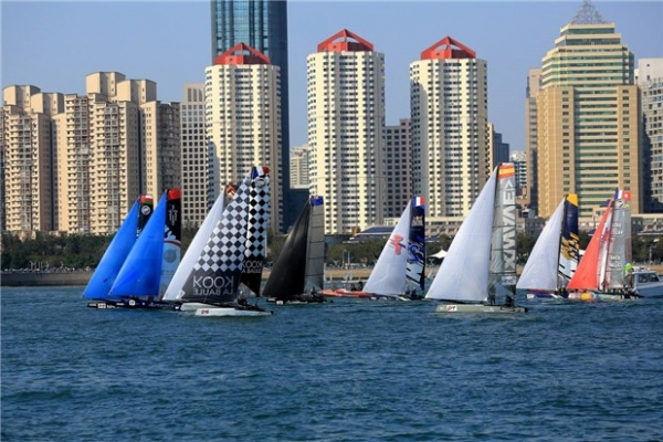 吹海风,踏浪花,青岛特色研学帆船体验之旅