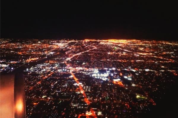 北京爱上洛杉矶,UA889上的圣诞夜