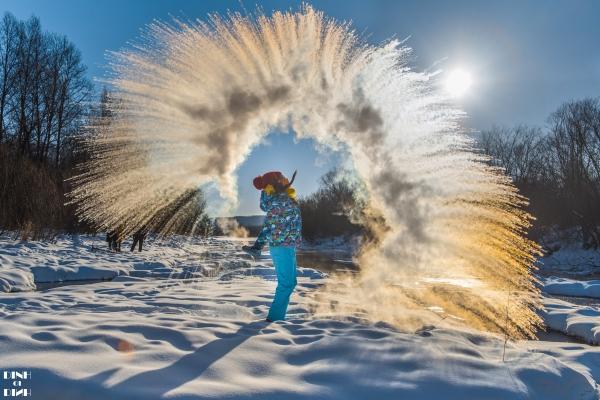 【新年再出发】中国最北县城的冬日童话 满足南方孩子对雪的一切想象