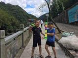 大溪峡谷皮筏漂流