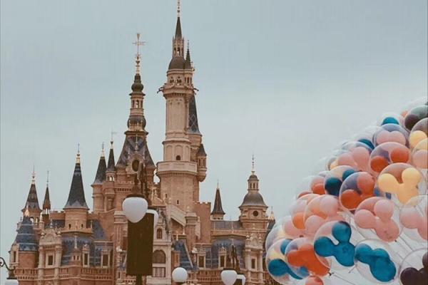 【上海微旅游】童話迪士尼,每個女孩心中都有一個公主夢~