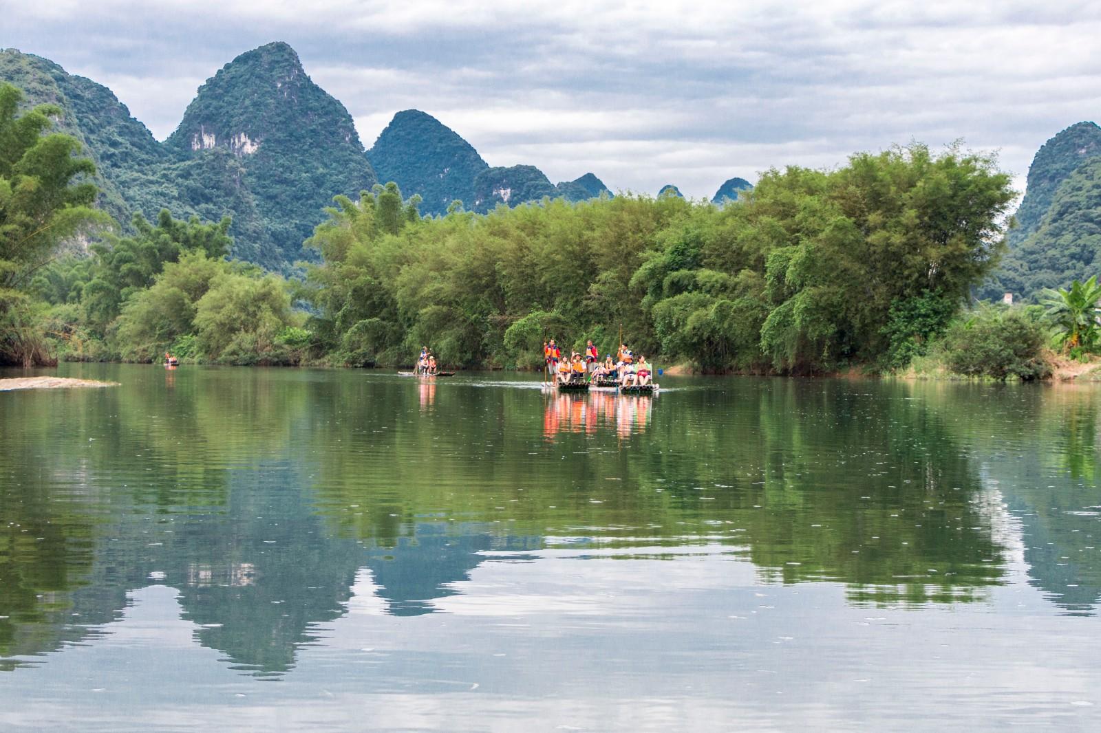 桂林阳朔双城游,享受悠闲的度假之旅