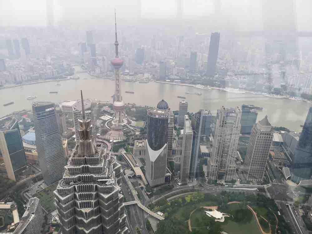 上海环球金融中心观光厅