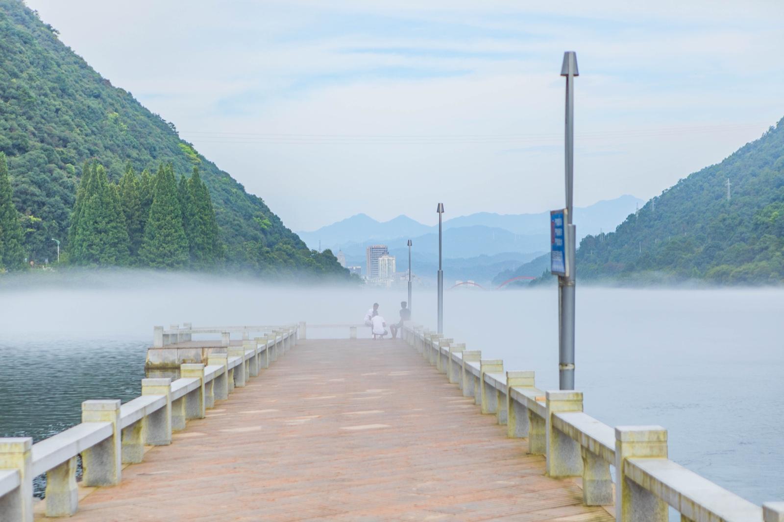 【我和祖国合影】17℃的夏天,赴一场与建德的清凉之约,尝一口山泉水