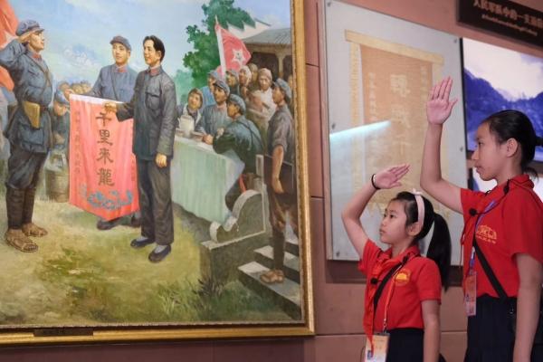 #红城百色#百色起义纪念园深度体验游