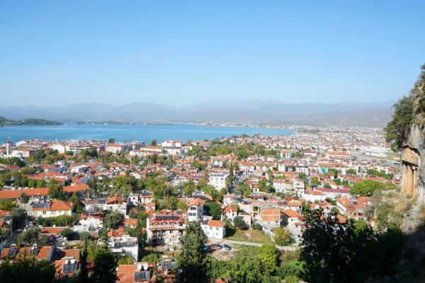 2019土耳其博物之旅14:利西亚石棺,建在峭壁上的爱情圣地?