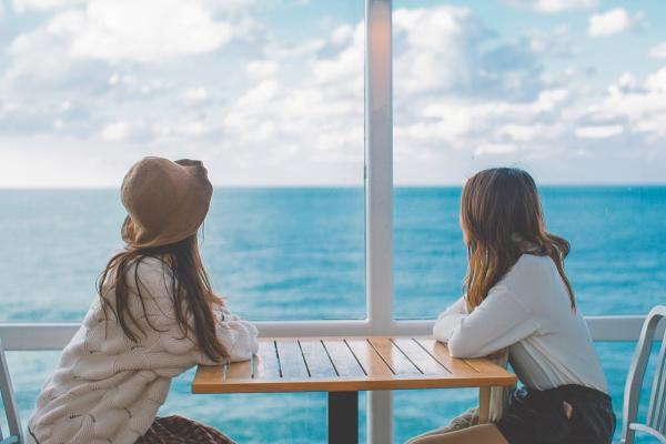女神漫游記,記一次海洋光譜號上的閨蜜游——憧憬下次富士山之旅