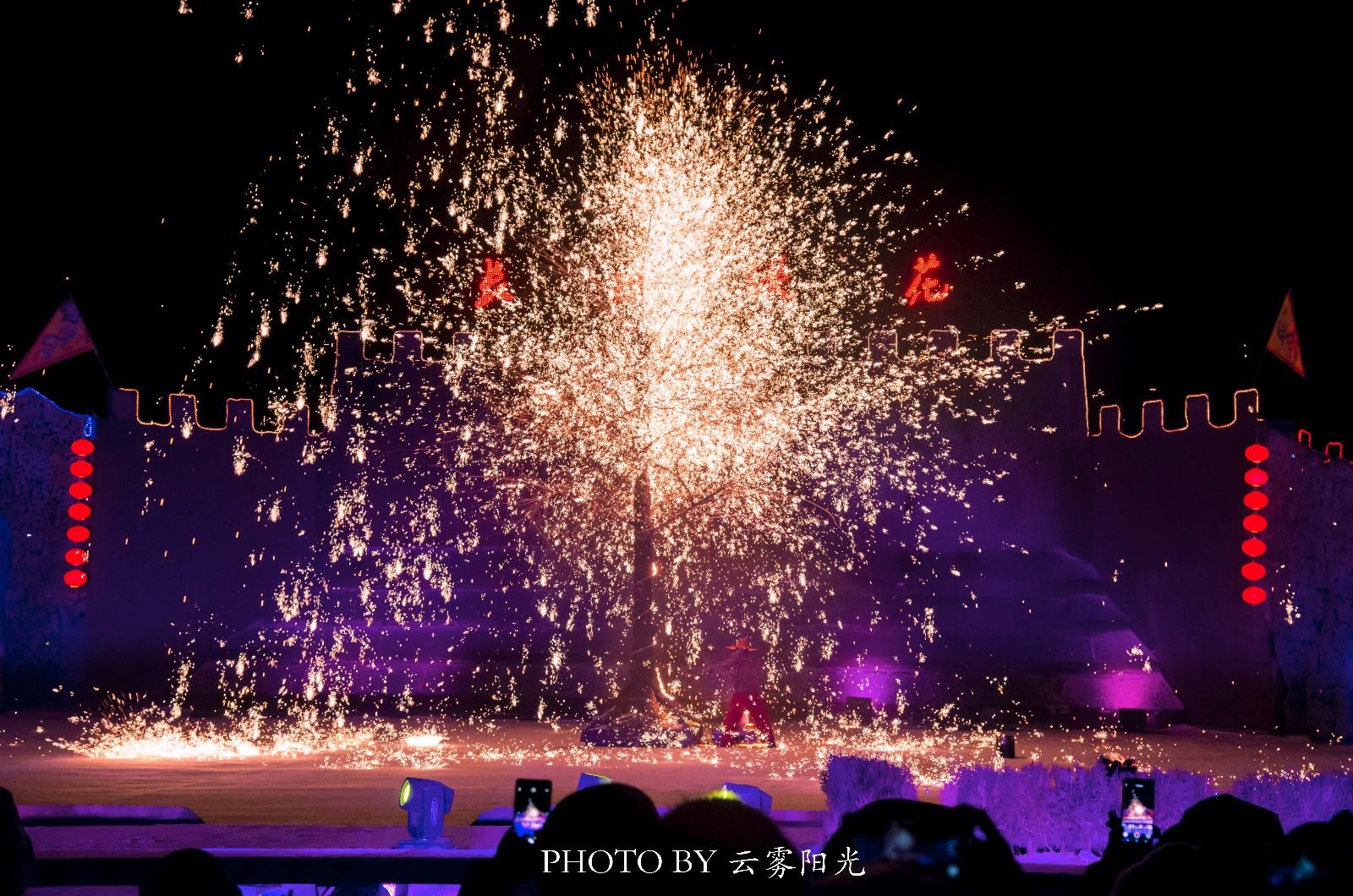 【新年輕度假】冬天的煙火,長城腳下的浪漫