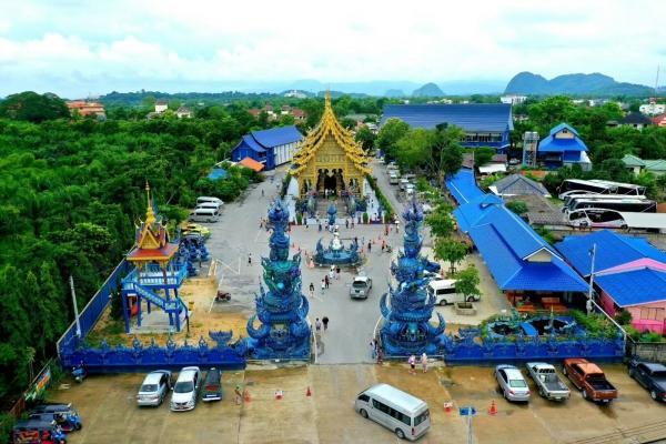 【新年輕度假】泰國清萊藍廟