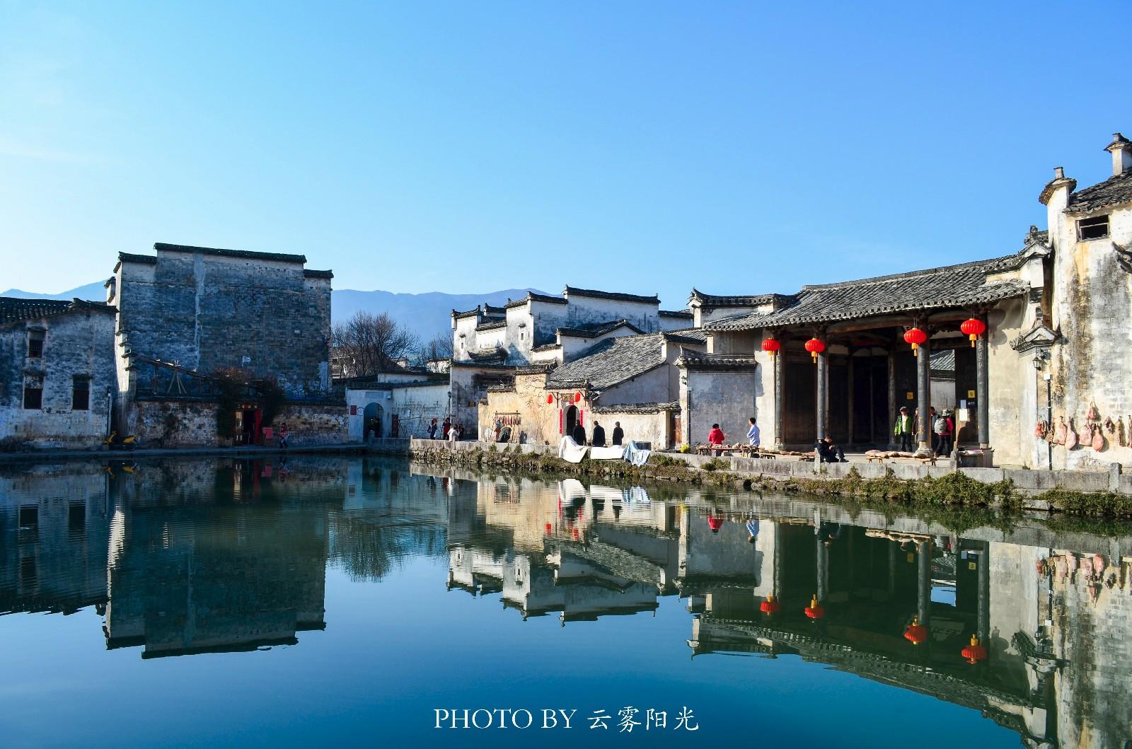 【新年輕度假】水墨宏村,畫里的景致