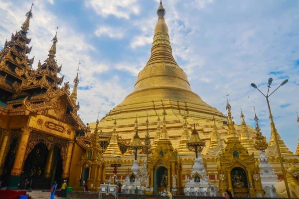 【新年轻度假】缅甸仰光大金塔一日游