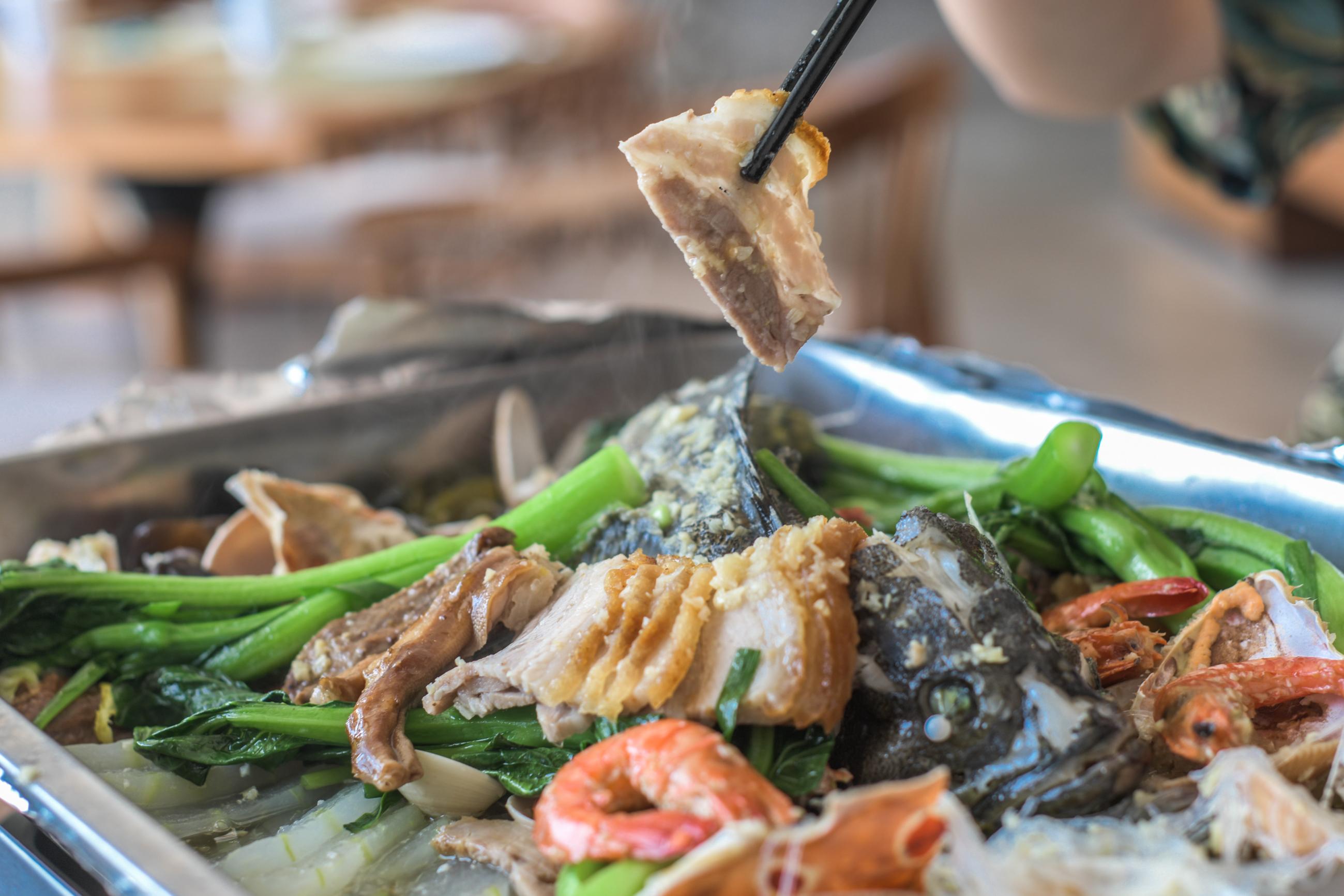 海南有道农家菜,价格不菲却很受欢迎,有餐厅销量超一千份