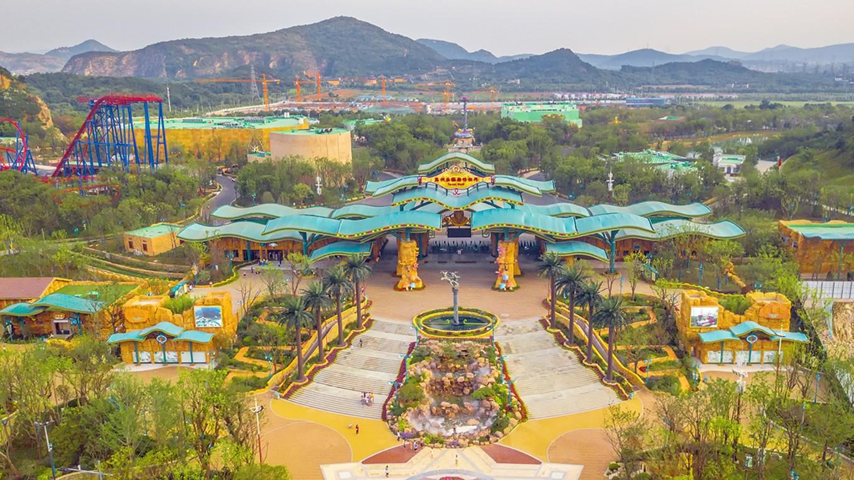 """尝鲜游玩体验,今年刚开业的""""苏州乐园森林世界"""",苏州又多了一个遛娃好去处"""