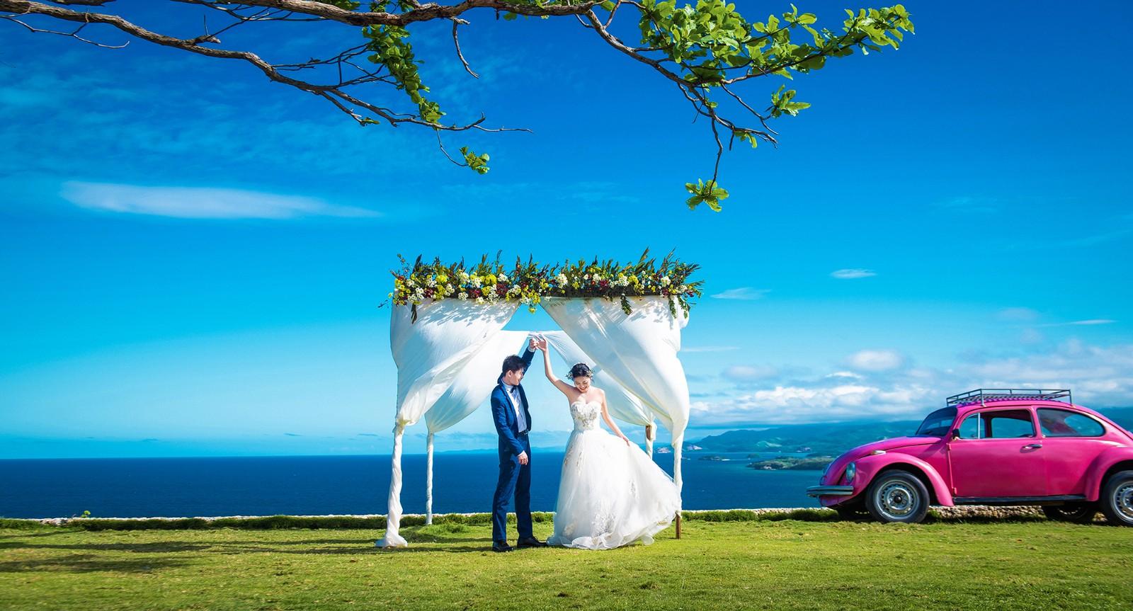 长滩岛婚纱照 长滩岛旅拍 海外旅拍
