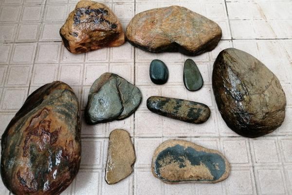 【美图Pick计划】国庆黄金周自驾游,在昭平县的大山捡到很多漂亮的奇石