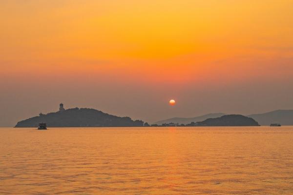 【美图Pick计划】不出去走走,不知道十月的无锡有多美,太湖无限好、夕阳太迷人
