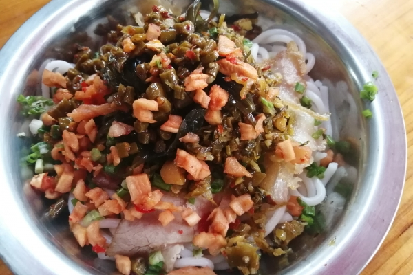 【美图Pick计划】到桂林灌阳吃桂林米粉,很便宜,味道还特别好