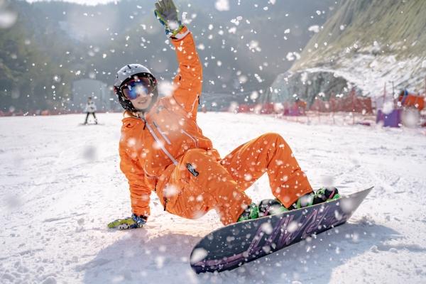 杭州周混蛋边游�,一场说走就走的�冬日滑雪之旅