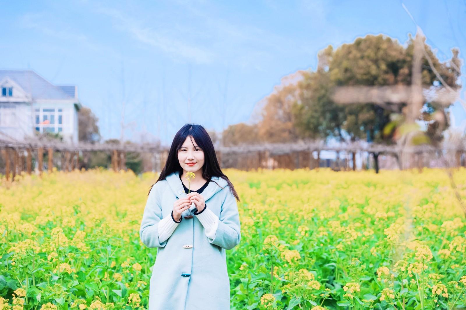 花与江南,三月人间‖爱上春天,从兴化那片明媚油菜花开始