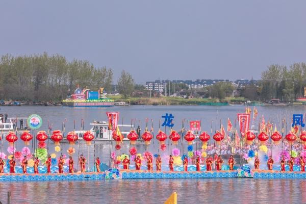 4月来姜堰,参加溱潼会船节,它已被列为全国首批非物质文化遗产