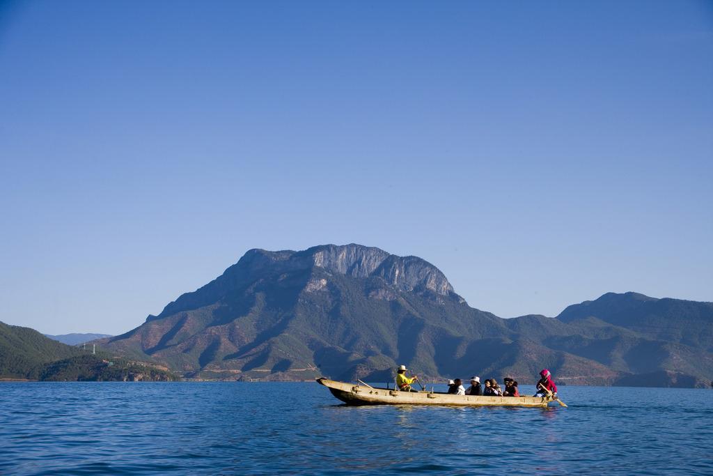 云南泸沽湖照片