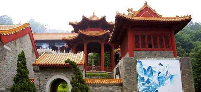 门票 南沙天后宫门票 广州 高清图片